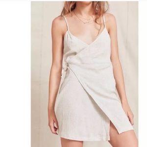 UO Urban Renewal recycled wrap dress